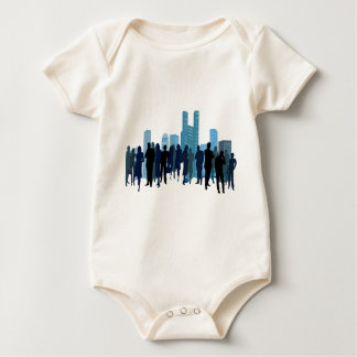 City Theme Baby Bodysuit