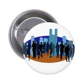 City Theme Pin