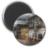 City - Thomas Street 2 Inch Round Magnet