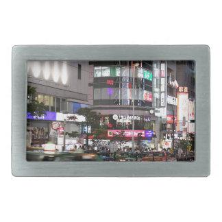 City Tokyo Street View Belt Buckle