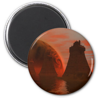 City Towers Magnet