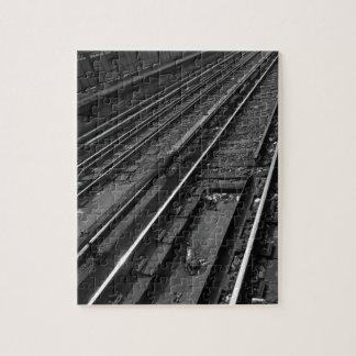City Tracks Jigsaw Puzzle