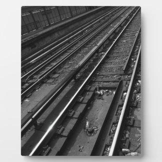 City Tracks Plaque