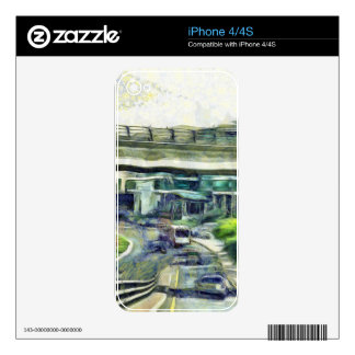 City traffic decals for the iPhone 4S
