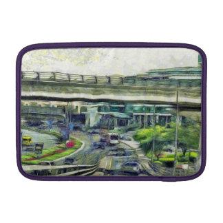 City traffic MacBook air sleeves