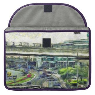 City traffic MacBook pro sleeves