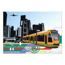 City Tram Invitations