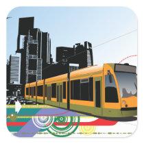 City Tram Stickers