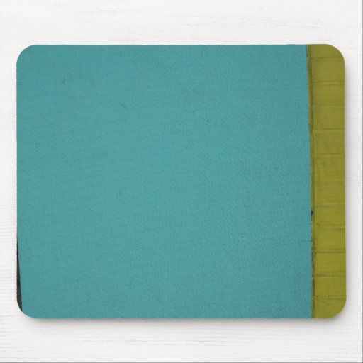 City Turquoise Mouse Pad
