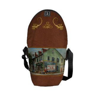 City - VA - C&G Grocery Store 1927 Messenger Bag