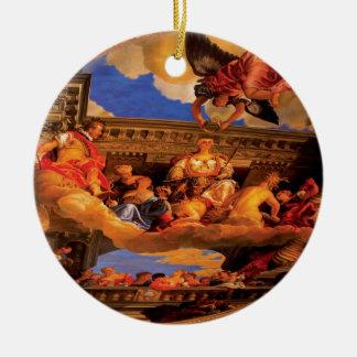 City - Vegas - Venetian - The Ceiling Ceramic Ornament