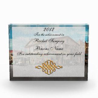 City - Victoria TX - The old Rupley Hotel 1931 Acrylic Award