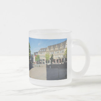 City victories market place frosted glass coffee mug