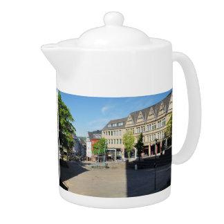 City victories market place teapot