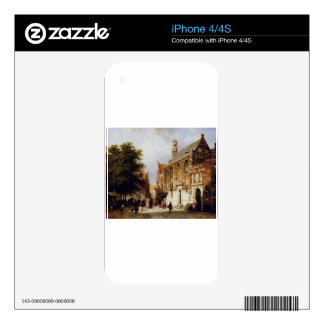 City view by Cornelis Springer Skin For iPhone 4S