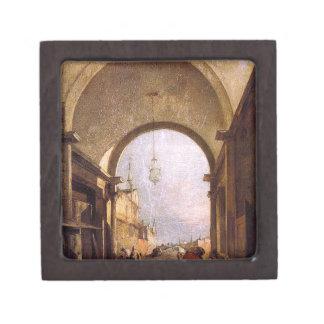 City View by Francesco Guardi Gift Box