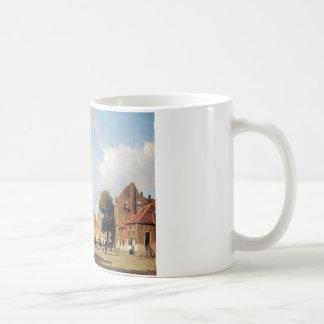City view by Johan Hendrik Weissenbruch Coffee Mug