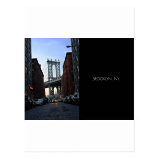 City View from Brooklyn, New York Post Cards