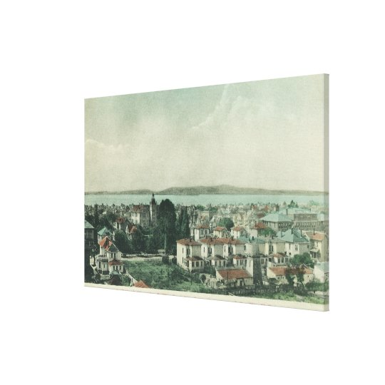 City View from City Hall TowerAlameda, CA Canvas Print