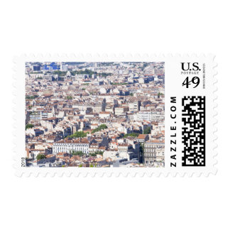 City View in Marseille Postage Stamp