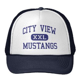 City View - Mustangs - High - Wichita Falls Texas Trucker Hat