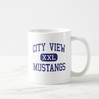 City View - Mustangs - High - Wichita Falls Texas Mugs