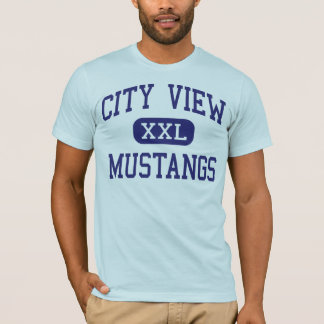 City View - Mustangs - High - Wichita Falls Texas T-Shirt