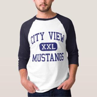 City View - Mustangs - High - Wichita Falls Texas T-Shirt