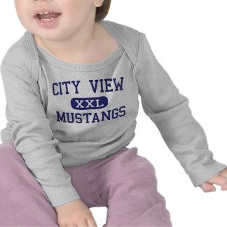 City View - Mustangs - High - Wichita Falls Texas Tee Shirt