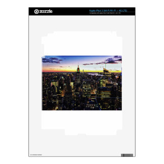 City View Night Decal For iPad 3