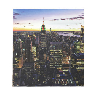 City View Night Notepad