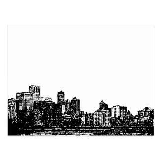 City View Postcard