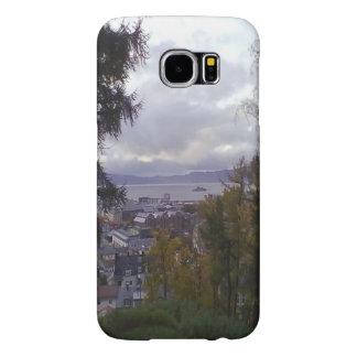 City view Trondheim Samsung Galaxy S6 Case