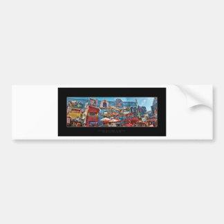 City Walk Bumper Stickers