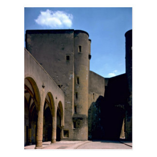 City walls and gate, Metz, France Postcard