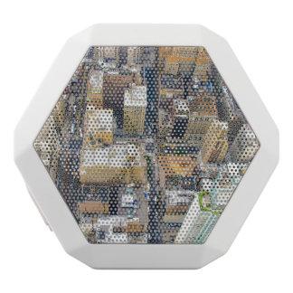 city white bluetooth speaker