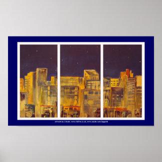 City window poster art