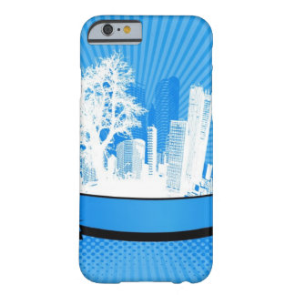 City with tree barely there iPhone 6 case