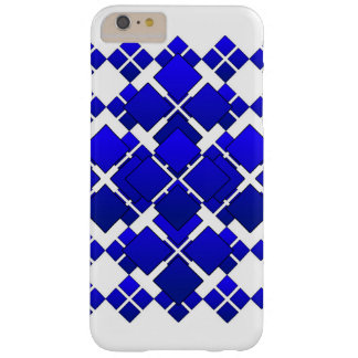 Citycape Blue Square Diamond Barely There iPhone 6 Plus Case