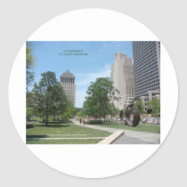 Citygarden Classic Round Sticker