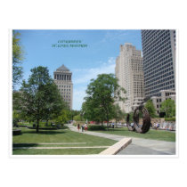 Citygarden Postcard