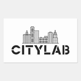 CityLab skyline sticker
