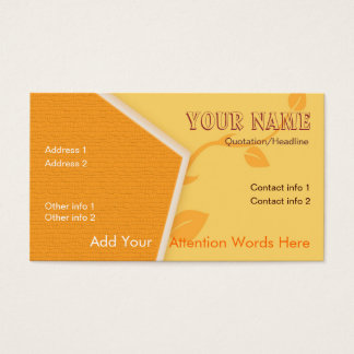 CityNature Business Card