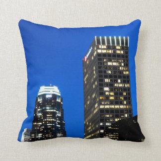 Cityscape 12 throw pillow