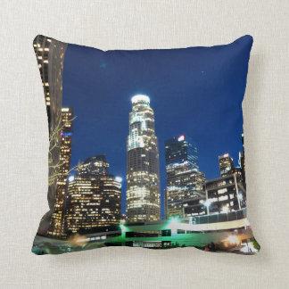 Cityscape 13 throw pillow