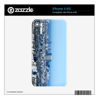 Cityscape 1 skin for iPhone 4