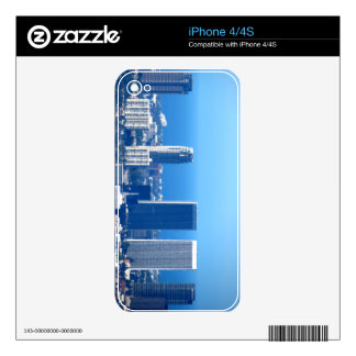 Cityscape 2 iPhone 4S decal
