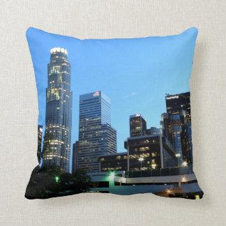 Cityscape 7 throw pillow