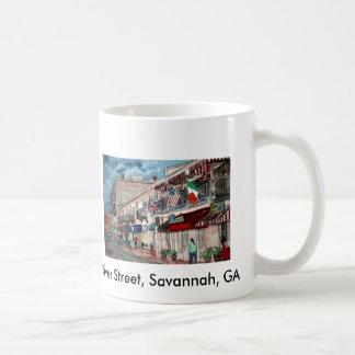 Cityscape architecture historical art, River St... Classic White Coffee Mug