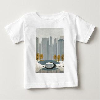 Cityscape art baby T-Shirt